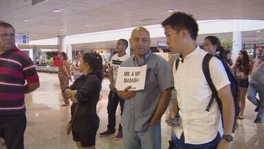 Tradutores aproveitam Olimpíada para garantir renda extra em Manaus - Número de japoneses na capital exigiu trabalho de profissionais do ramo.