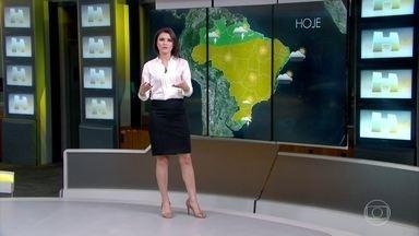 Previsão é de tempo firme no Rio de Janeiro - A cidade terá sol e calor e, durante a tarde, a temperatura vai subir até cerca de 27ºC.