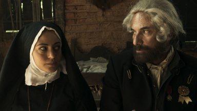 """A Lenda do Mão de Luva – Episódio 2 – """"Amor Bandido"""" - Mão de Luva conhece a misteriosa freira Selena, que de santa não tem nada."""