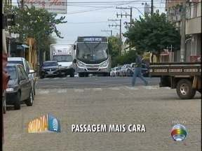 Tarifa de ônibus é reajustada em Adamantina - Novo preço passa a valer nesta segunda-feira (8).