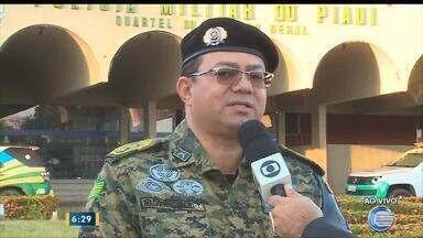 Policiais vão reforçar segurança nas cidades durante o período eleitoral - Policiais vão reforçar segurança nas cidades durante o período eleitoral