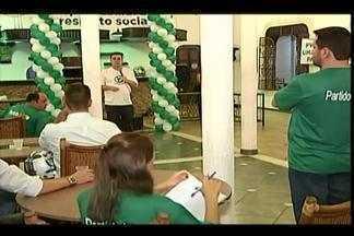 PV lança Públio Emílio Rocha como candidato a prefeito de Uberaba - Convenção partidária foi realizada na última sexta-feira (5). PV anunciou 21 candidatos ao cargo de vereador.