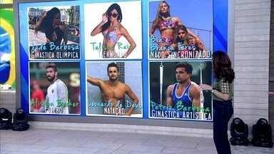 Atletas e turistas aproveitam clima olímpico para encontrar parceiros - Tande conta que vilas olímpicas são locais propícios para paqueras. Distrituição de camisinhas no Rio de Janeiro jã bateu o recorde