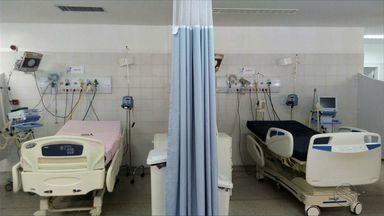 Leitos do Huse ficaram impedidos de receber pacientes por falta de profissionais - Leitos do Huse ficaram impedidos de receber pacientes por falta de profissionais para dar suporte.