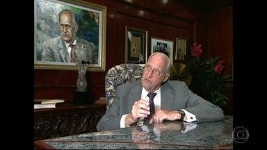 João Havelange morre aos 100 anos de idade - Havelange estava internado desde julho