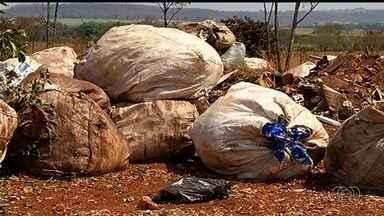 Justiça determina que município apresente plano para descarte de lixo, em Itumbiara, em GO - A cidade ainda não possui um aterro sanitário destinado aos resíduos gerados pela região.