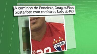 Bahia pode emprestar Douglas Pires para o Fortaleza até o fim da temporada - Confira as notícias do tricolor baiano.
