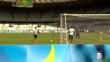 Mineirão sedia disputa pelo bronze entre Honduras e Nigéria - Jogo em Belo Horizonte vale o terceiro lugar no futebol masculino. Os dois países buscam medalha inédita.