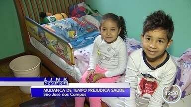 Crianças sofrem com o tempo seco - Tempo mudou um pouco, mesmo assim os cuidados precisam ser constantes.