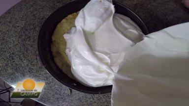 Caminhos do Campo: neste domingo (21), você vai aprender a fazer uma torta de iogurte - Receita holandesa será um dos destaques do programa