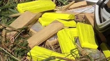 Aumentam as apreensões de drogas nas fronteiras com Bolívia e Paraguai - As apreensões de drogas aumentaram assustadoramente nas últimas semanas, na fronteira com a Bolívia e o Paraguai. Os traficantes já não estão nem disfarçando para tentar entrar com grandes quantidades de droga.