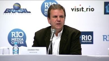 Olimpíada atraiu milhões de pessoas ao Rio de Janeiro - Os números gigantescos da Olimpíada foram apresentados, nesta terça-feira (23), pelo prefeito do Rio, Eduardo Paes, e pelo o ministro chefe da Casa Civil, Eliseu Padilha.