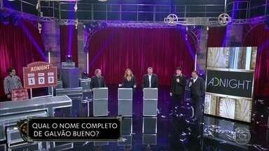 Arnaldo Cezar Coelho, Reginaldo Leme e Daniela Mercury participam de teste de afinidade - Quem é mais brother do Galvão Bueno?