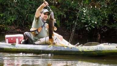 Pesca de caiaque - No Mato Grosso, o rio Braço Norte desafia os pescadores na busca pelo trairão.