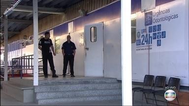 Pacientes de UPA em São Gonçalo sofrem com falta de médicos e remédios - No fim de semana, a UPA de Colubandê atendeu sequer casos de emergência.