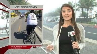 G1 no Bom Dia Rio: professor reúne grupo de ciclistas para perder peso - A cidade do Rio é sempre um convite à prática de esportes. Um professor reuniu 200 ciclistas e batizou o grupo de Ciclogordismo. O objetivo é perder peso e ter uma vida mais saudável.