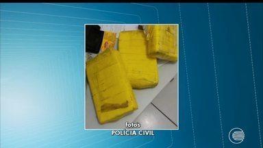 Policiais apreendem dois quilos de cocaína e skank em Teresina - Policiais apreendem dois quilos de cocaína e skank em Teresina
