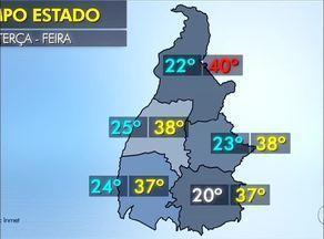 Confira a previsão do tempo para o Tocantins - Confira a previsão do tempo para o Tocantins
