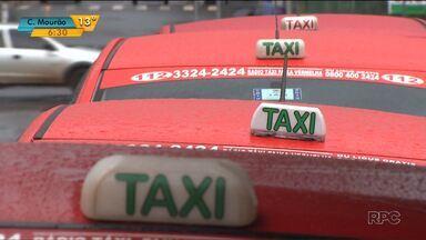 Frota de táxis de Londrina vai ser ampliaa - A expectativa é que os veículos estejam nas ruas até o fim do ano.