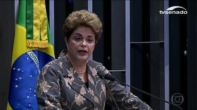 Dilma depõe por 15 horas e divide opiniões sobre seu desempenho - Dilma depõe por 15 horas e divide opiniões sobre seu desempenho