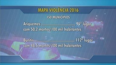 RO é o 3º estado da região Norte com maior número de homicídios por arma de fogo - Dados são do Mapa da Violência.