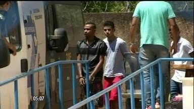 Mais de 50 presos em regime semiaberto voltam para regime fechado em Palmas-TO - A justiça determinou a regressão da pena depois que um incêndio destruiu parte da cadeia onde eles estavam.