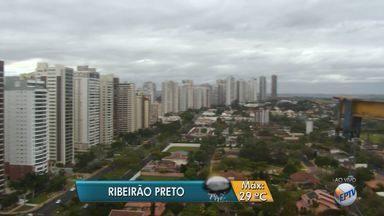 Agosto termina com tempo instável na região de Ribeirão Preto, SP - Temperatura máxima deve ser de 29ºC, segundo a previsão do tempo.