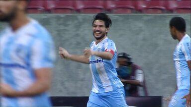Londrina e Paraná Clube vencem na série B - O Londrina venceu o Náutico fora de casa e o Paraná Clube fez um a zero sobre o Sampaio Corrêa em casa.