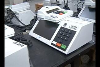 Marabá recebe urnas para eleições municipais - Equipamentos serão distribuídos para municípios do sudeste do Pará.
