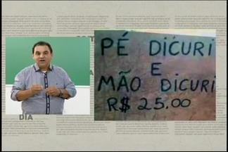 Veja dicas do quadro 'Em dia com a Língua Portuguesa' - Professor Elmo Fernandes explica gramática correta de palavras e expressões.