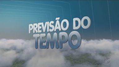 Tempo deve ficar estável na região nesta quinta-feira - Após passagem de frente fria e chuvas, céu abre na região. Temperaturas em Campinas (SP) ficam entre 13°C e 26°C.