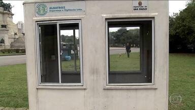 Prefeitura não contratou novos vigilantes após fim dos contratos de segurança dos parques - Quase um mês depois do fim dos contratos de segurança particular nos parques municipais, a prefeitura de São Paulo não contratou novos vigilantes.