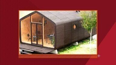 Holandeses criam casa de papelão 100% sustentável - Holandeses criam casa de papelão 100% sustentável.