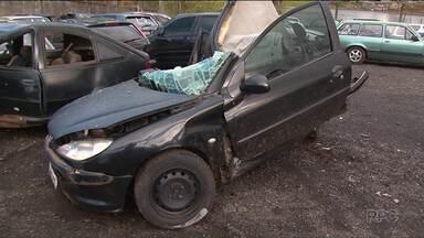 Dois jovens ficam gravemente feridos depois de acidente em Guarapuava - O acidente foi no fim de semana.