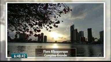 Telespectadores enviam fotos do amanhecer na Paraíba - Todos os dias as fotos são exibidas no Bom Dia Paraíba.