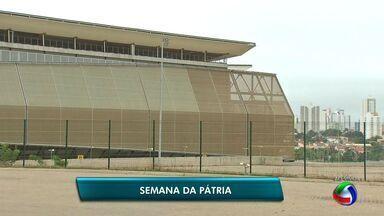 Aberta a Semana da Pátria em Cuiabá - Aberta a Semana da Pátria em Cuiabá.