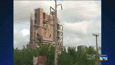 Oito homens roubam estoque de explosivos de uma fábrica de cimento em Codó - Oito homens invadiram uma fábrica de cimento na madrugada desta segunda-feira (5); na ação criminosa, o estoque de explosivos que estava na loja foi levado.