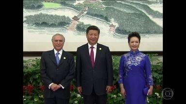 Michel Temer tem encontros bilaterais no último dia da cúpula do G-20 - A comitiva brasileira já deixou a China. Comunicado final do G-20 reforça a importância de se combater o protecionismo para revitalizar o comércio mundial.