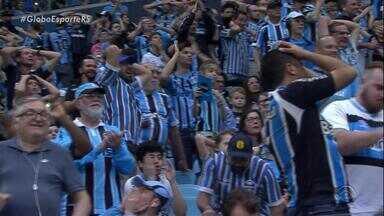 Grêmio busca repetir fora de casa o desempenho que tem na Arena - Tricolor enfrenta o Coritiba no Paraná nesta quarta (7).