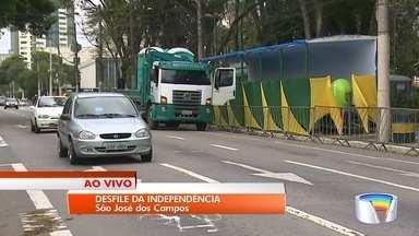 Cidades da região celebram o 7 de setembro - Em São José, desfile acontece nesta manhã.