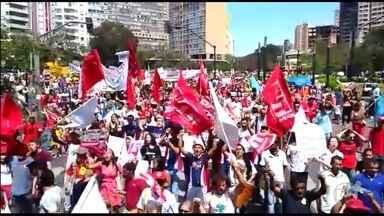 Belo Horizonte tem protesto contrário a Temer e pela garantia de direitos sociais - Concentração começou por volta das 9h na Praça Raul Soares, no Centro. No 7 de Setembro, ocorre tradicionalmente o Grito dos Excluídos.