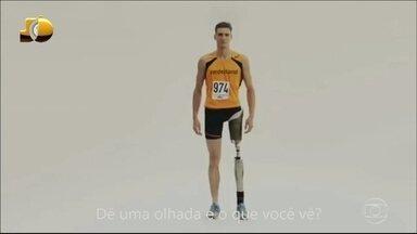Jô Soares mostra vídeo em homenagem à Paralimpíada - Delegação britânica exalta superação dos atletas