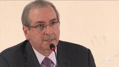 STF nega pedido para suspender processo de cassação de Eduardo Cunha - O Supremo Tribunal Federal (STF) rejeitou um recurso do deputado afastado Eduardo Cunha, que queria suspender o processo que pede a cassação do mandato dele. A votação na Câmara está marcada para segunda-feira (12).