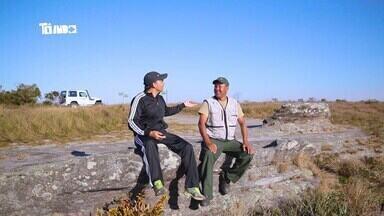 Mário conhece um dos guardas do parque e conta história dele - Homem trabalha há mais de 20 anos no local