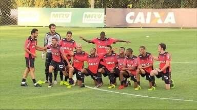 Depois de três jogos, Galo vai ter de volta um trio parada dura: PRF - Pratto, Robinho e Fred voltam a jogar juntos contra o Fluminense