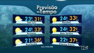 Veja a previsão do tempo para este fim de semana - A previsão é de tempo quente em todo o estado.