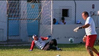 Salgueiro joga pela Série C contra o River, neste domingo (11) - A partida é muito importante pro carcará que tá correndo risco de rebaixamento.