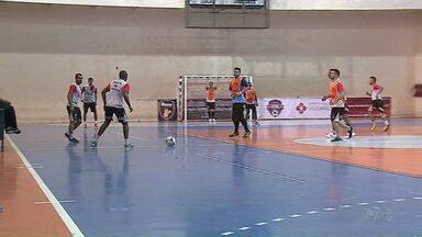 AFP treina para a segunda fase do Campeonato Paranaense - O time terminou a primeira fase na liderança.
