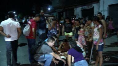 Atropelamento na Avenida Francisco Sá revolta população - O acidente ocorreu com uma mãe e um bebê