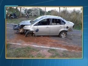Acidente deixa uma pessoa ferida em Irapuru - Caso foi na Rodovia Júlio Budiski (SP-501).